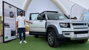 Golf y náutica escenarios perfectos de Jaguar y Land Rover
