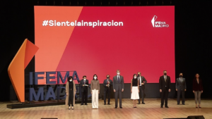 beon. Worldwide produce el evento de presentación de la nueva identidad visual de IFEMA MADRID